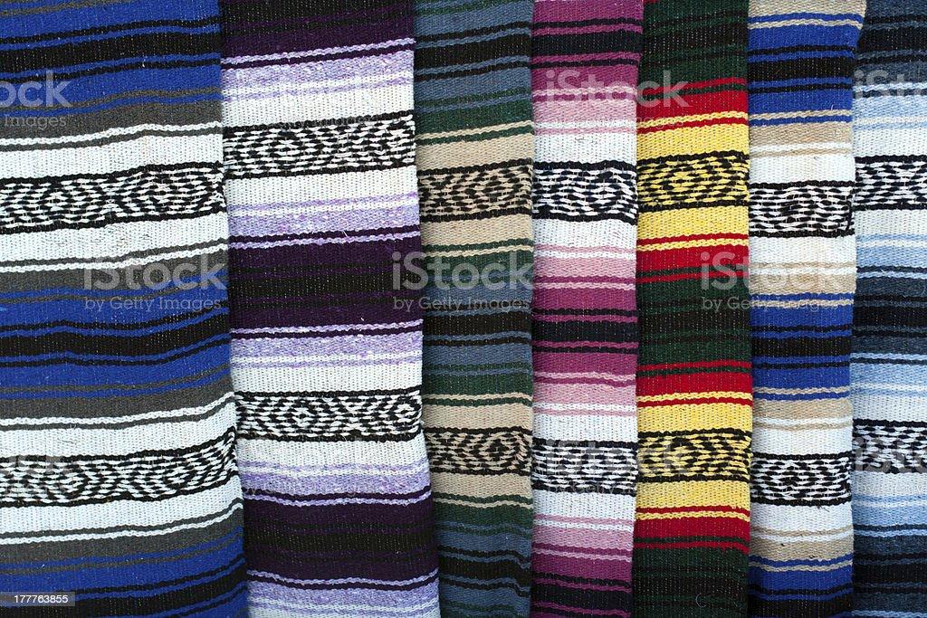 Colorido Alfombrilla de la India - foto de stock
