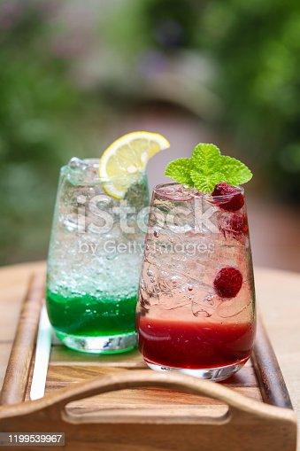 Italian soda,Summer drink