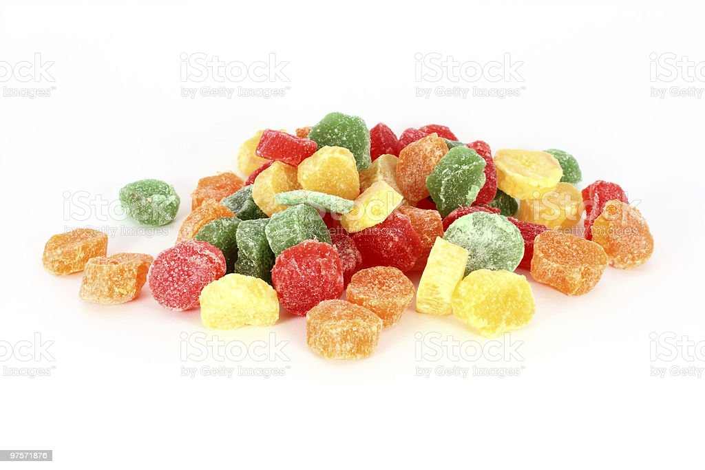 Colorful jelly candies royalty-free stock photo