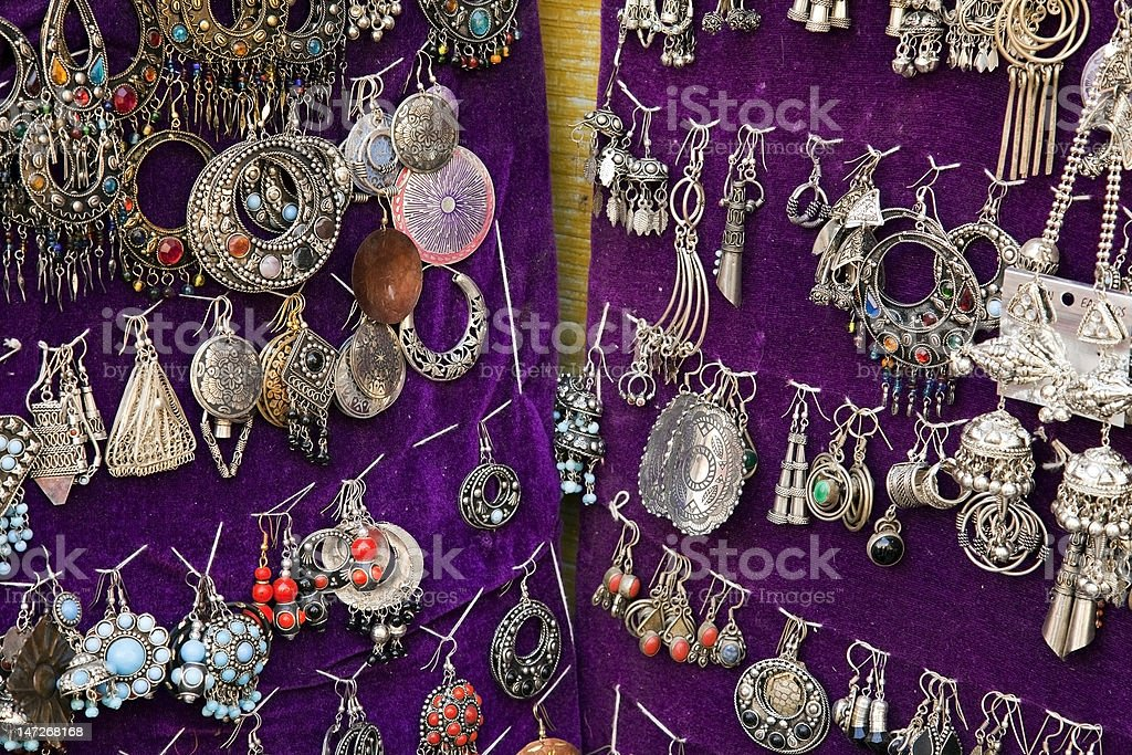 Colorful Jewelry royalty-free stock photo