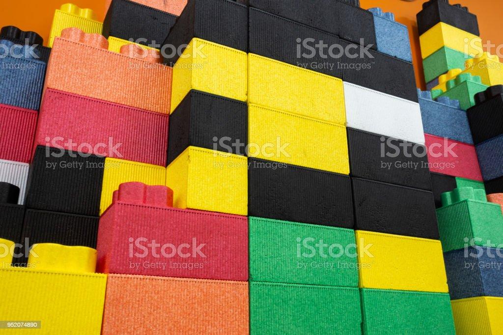Colorful Kids Epp Foam Toy Blocks Children Safe Toy Stock
