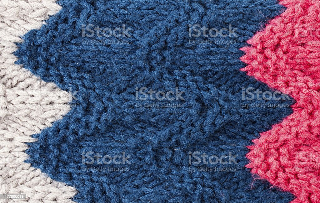 Colorful  Knitting background texture. High resolution Knit wool royalty-free stock photo