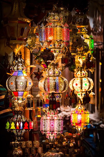 994119256 istock photo colorful lamps 535793332