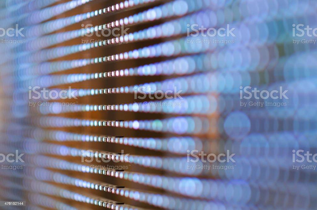 Bunten LED (light Ausstoßen diodes) die Einsatz mit bokeh-Effekt. - Lizenzfrei 2015 Stock-Foto
