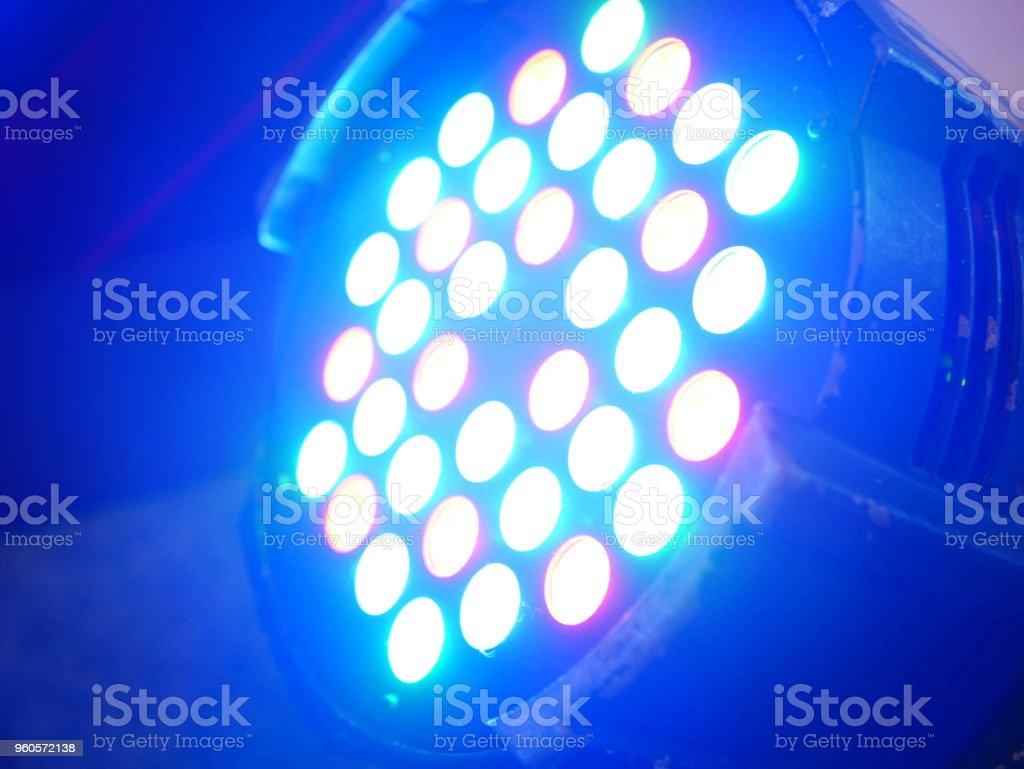 Bunte LED-Licht-Equipment – Foto