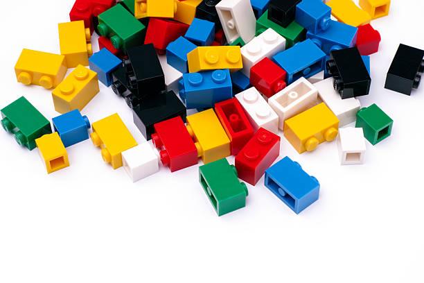 Heap Of Multicolor Lego Blocks Stock Photos, Pictures