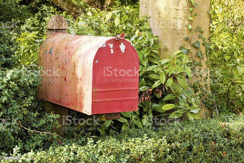 Colorful Letterbox stock photo