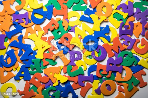 istock Colorful Letters 994302920