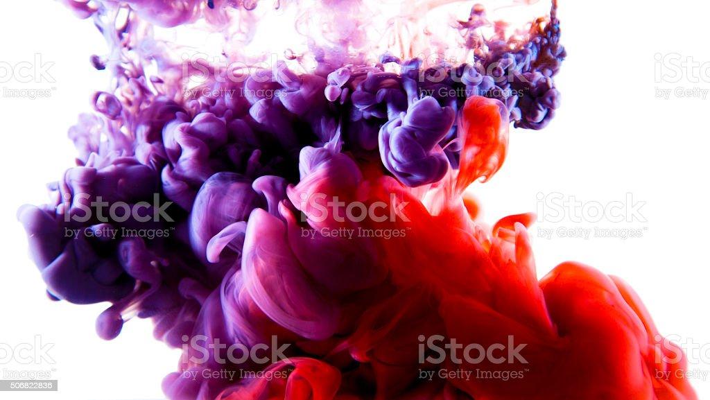 colorful liquid art stock photo