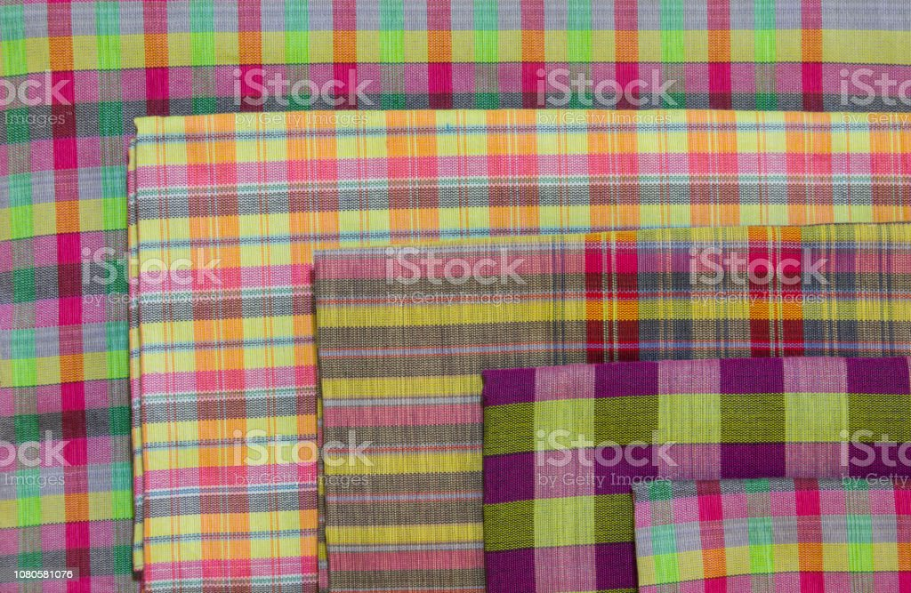 Colorful loincloth pattern for background stock photo