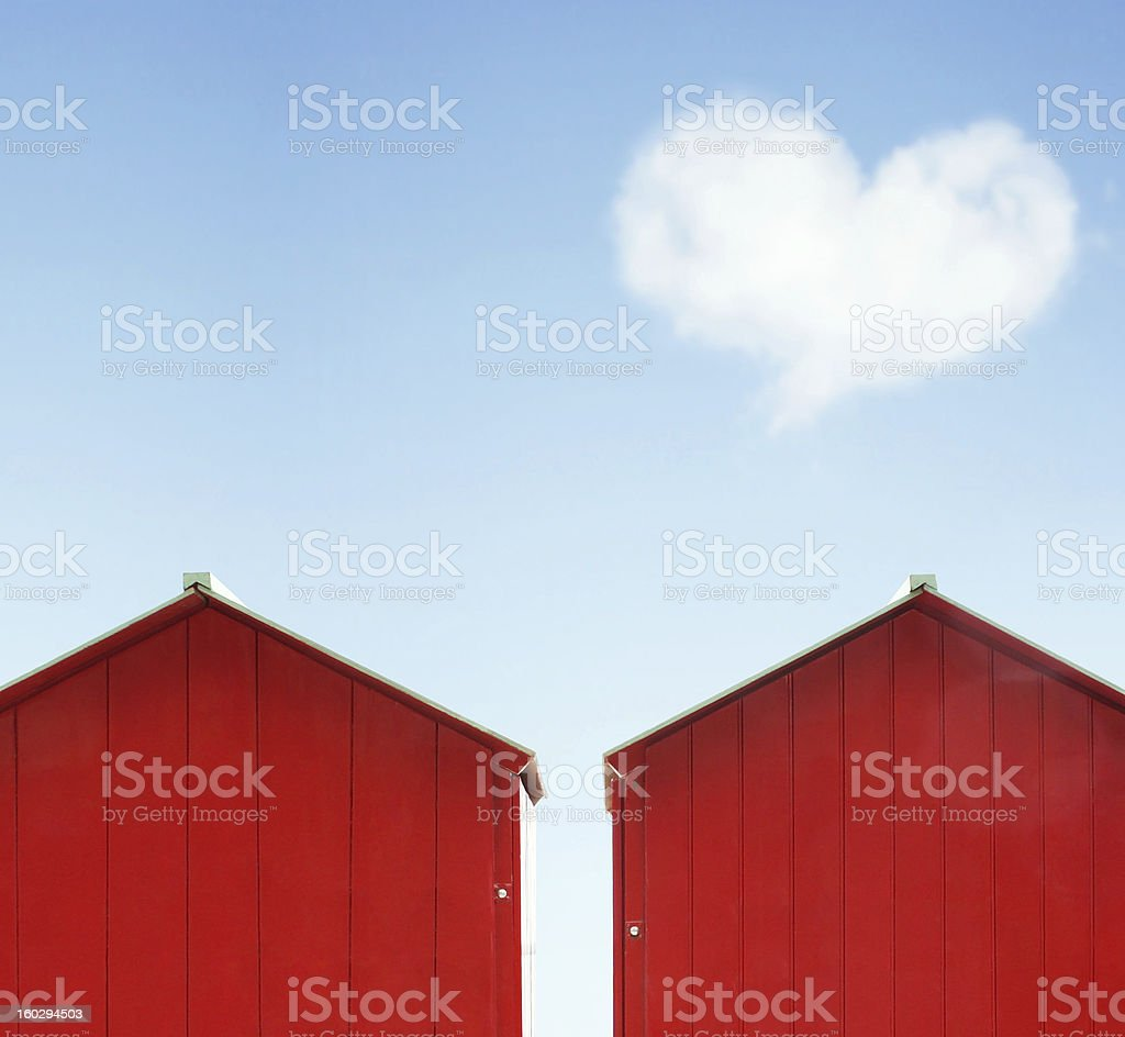 Colorful love royalty-free stock photo