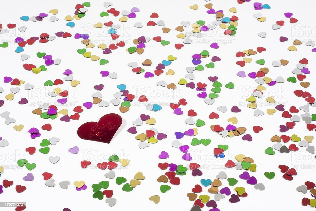 Bunte Liebe royalty-free stock photo