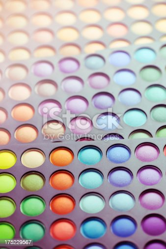 istock Colorful makeup palette 175229567