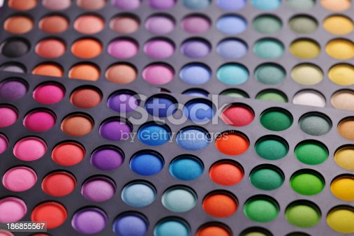 istock Colorful makeup palette 186855567