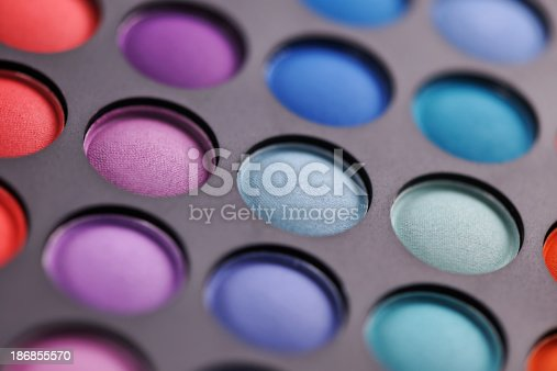 istock Colorful makeup palette 186855570
