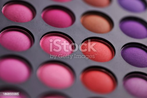 istock Colorful makeup palette 186855585