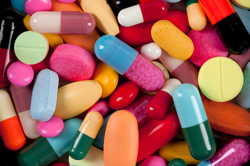 istock Colorful Medicine Pills And Tablets 1057621642