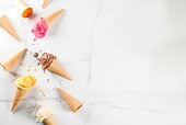 istock Colorful melting ice cream 935355032