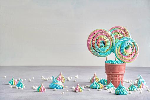 Meringue , Candy, Sweet , Food