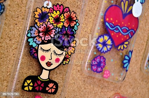 Mexican art is fun, colorful, and very creativity. These cell phones covers are beautifully decorated with bright colors, and a fun design.