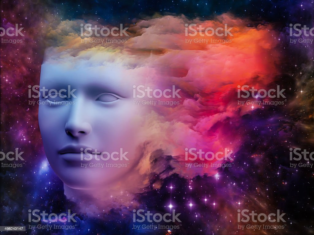 Colorful Mind royalty-free stock photo
