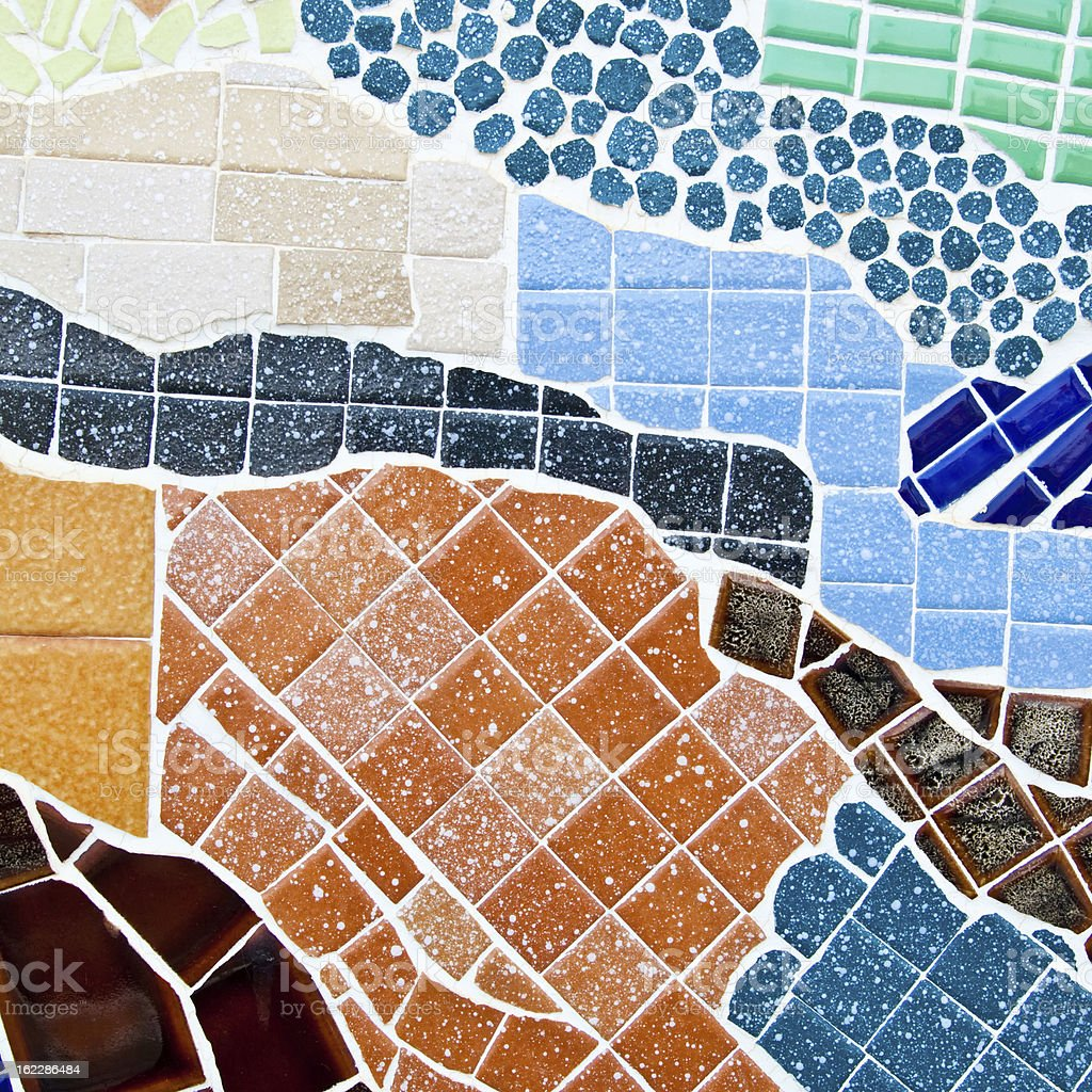 Colorful mosaic abstract for background royalty-free stock photo
