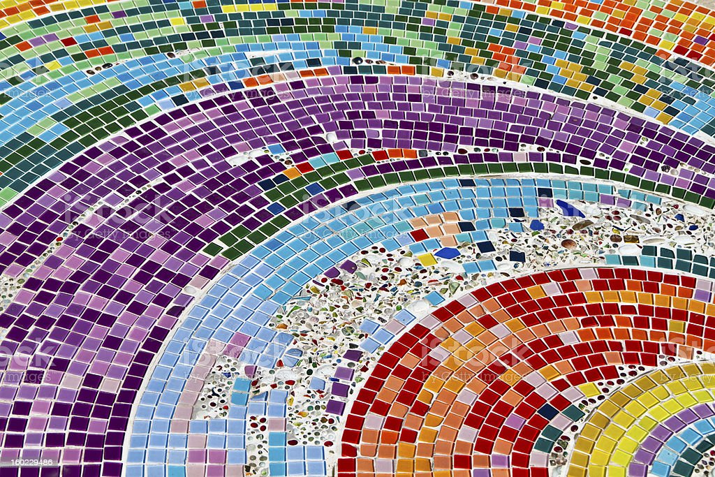 colorful mosaic background stock photo