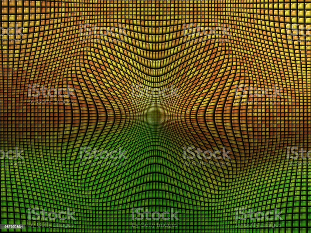 Colorful Mosaic Background push in 3D effect stock photo