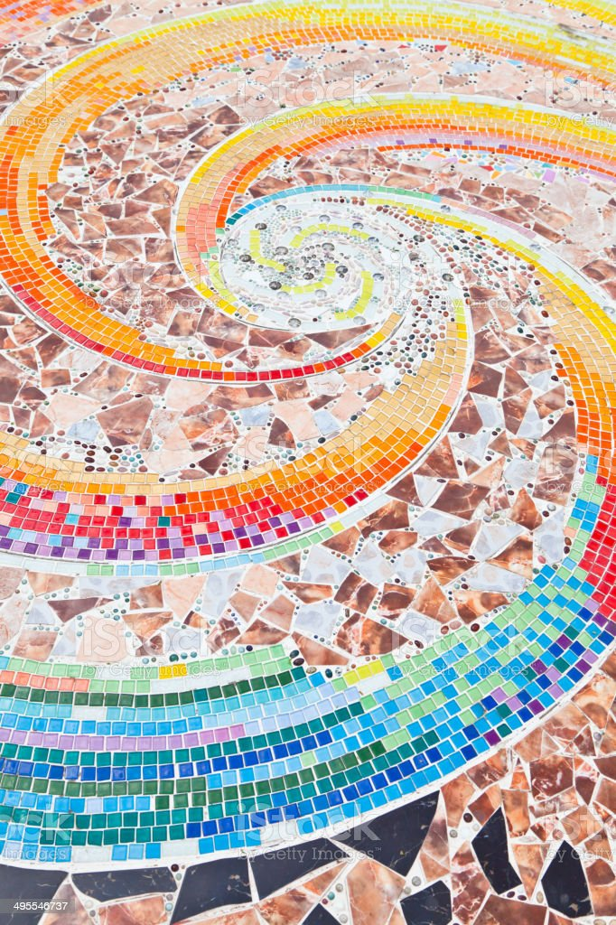 Colorful Mosaic stock photo