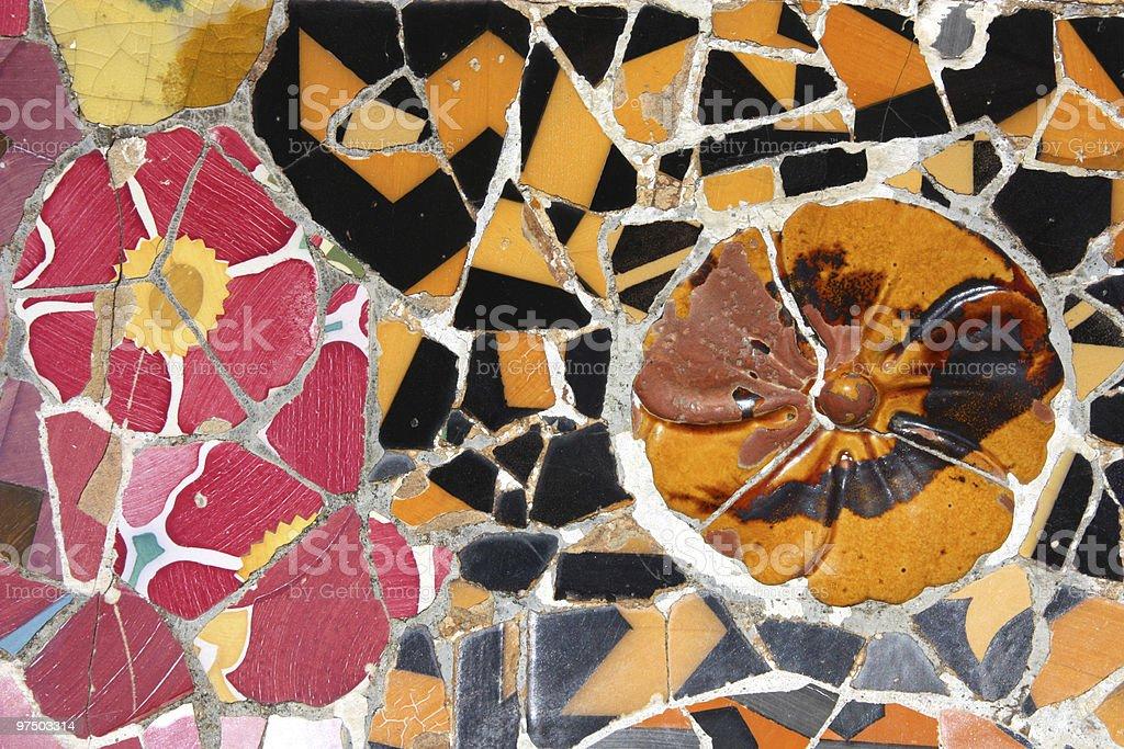 Colorful mosaic royalty-free stock photo