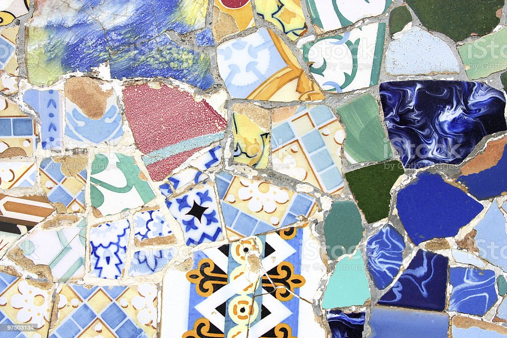 Colorful mosaic texture royalty-free stock photo
