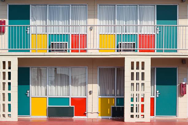 kolorowe motel - motel zdjęcia i obrazy z banku zdjęć