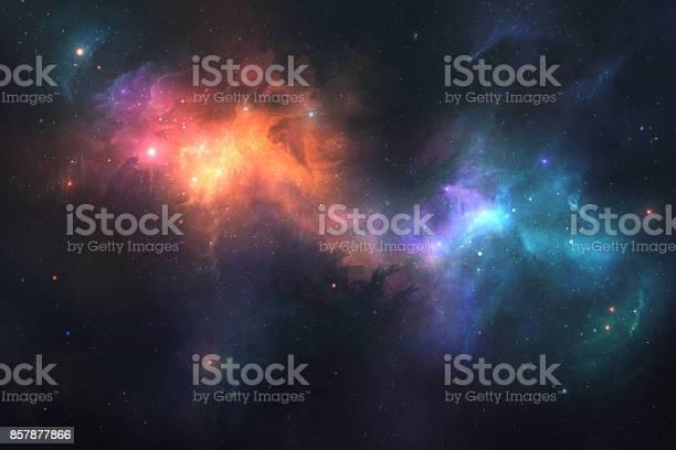 Photo of Colorful Nebulae