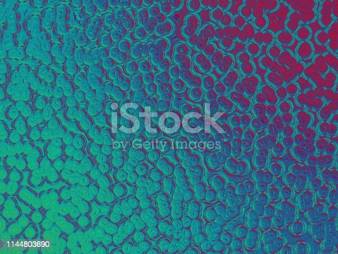653331540istockphoto Colorful Neon Bubble Pattern Holographic Foil Circle Background Ombre Red Dark Blue Teal Texture 1144803690