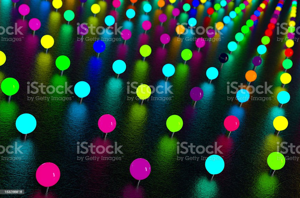 Colorful Neon Lights royalty-free stock photo