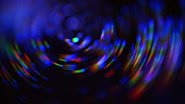 Colorful Neon Spiral Nebula Galaxy Swirl Pattern Rotor Abstract Blur Motion Speed Bokeh Black Background Distorted Macro Photography