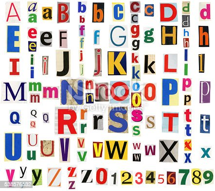 812461124istockphoto Colorful newspaper alphabet 538576532