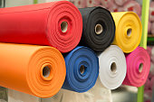 Colorful non-woven fabric rolls - material fabric