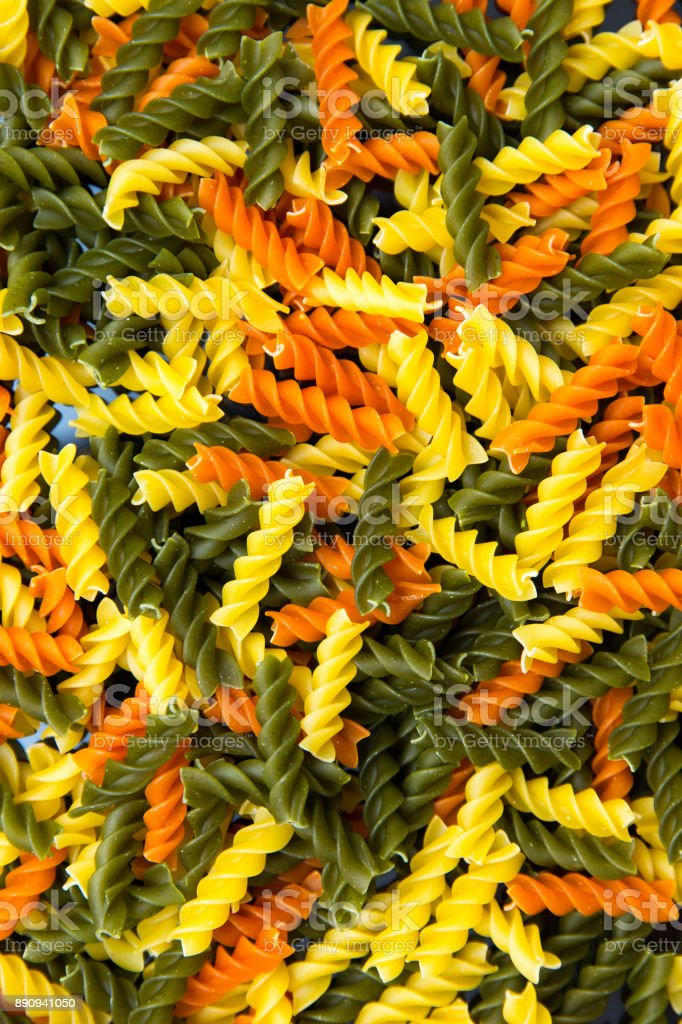 Colorful Noodles stock photo