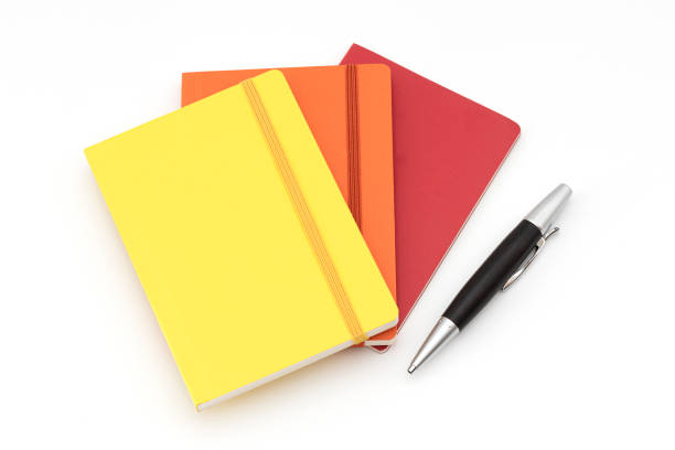 Colorful notepads. stock photo
