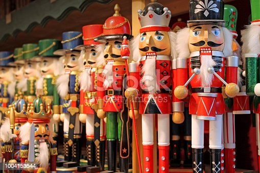 istock Colorful nutcrackers at a traditional Christmas market in Salzburg, Austria. 1004153544