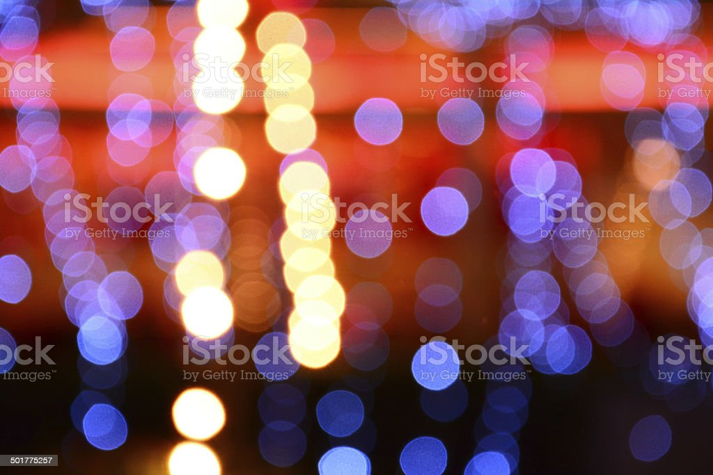 colorful of bokeh background stock photo