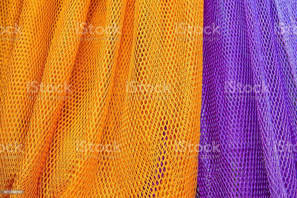 Colorful of fabric Lace rolls in shop, texture background photo libre de droits
