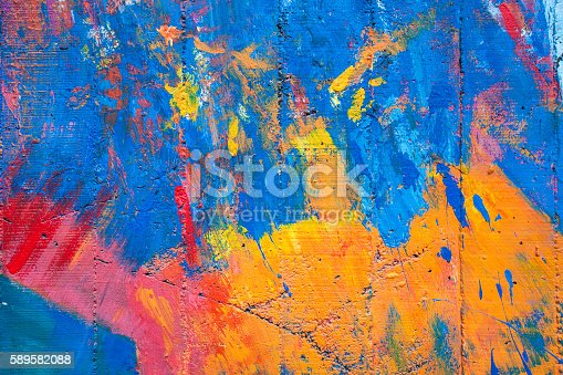 istock colorful of old cement wall 589582088