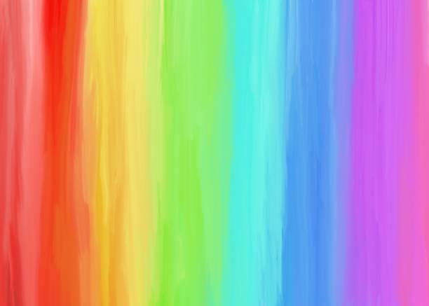 plano de fundo colorido pintura a óleo - arco íris - fotografias e filmes do acervo