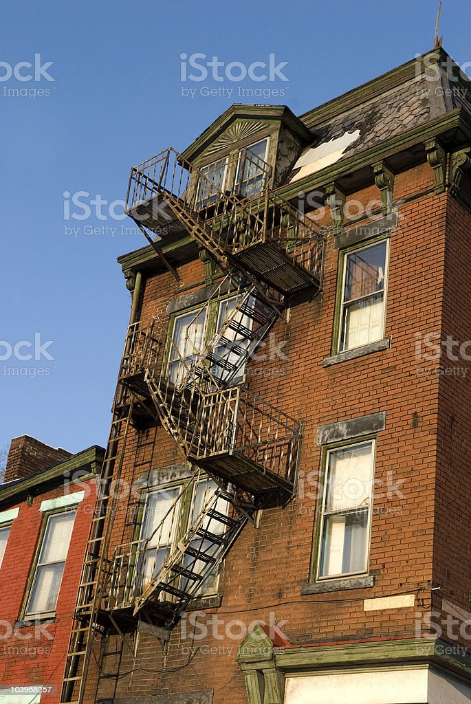 Colorful Old Building royalty-free stock photo