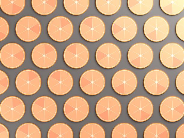 arrière-plan coloré alimentaire orange - design plat photos et images de collection