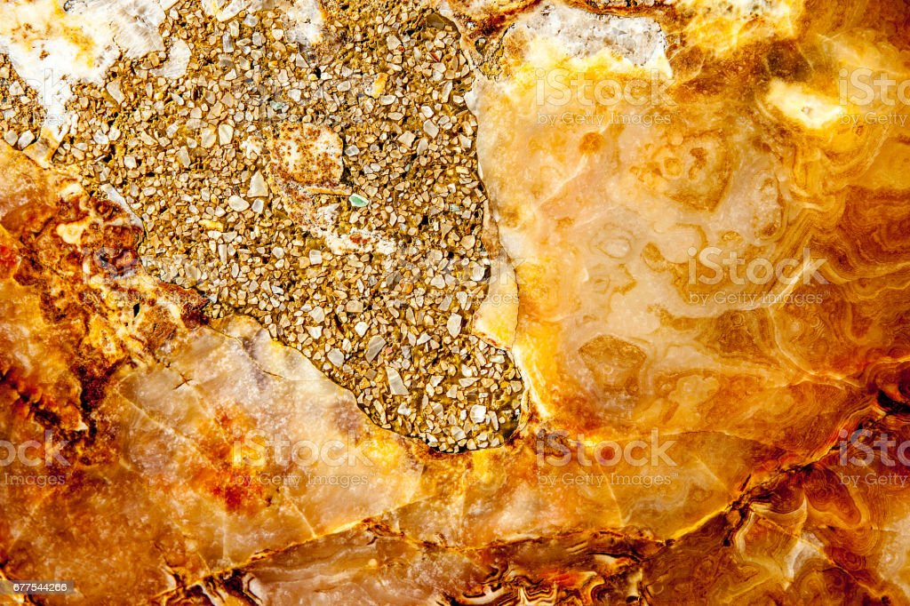 Colorful Orange Stone Background stock photo