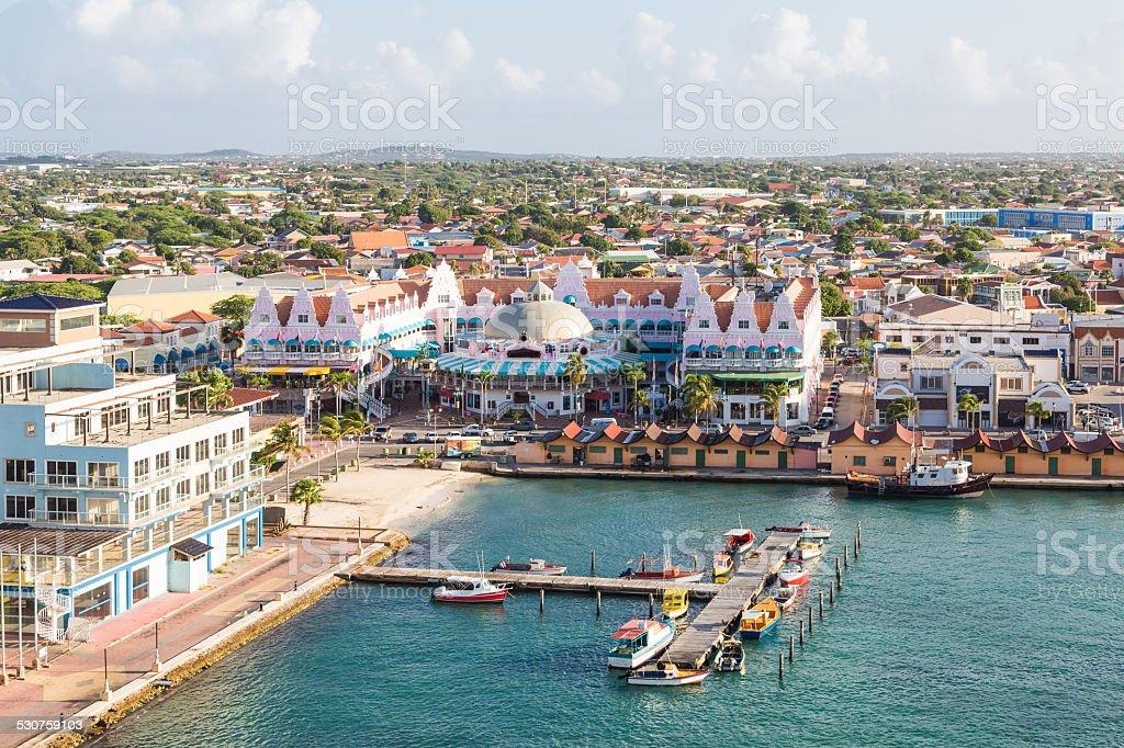 Na Oranjestad Aruba – zdjęcie
