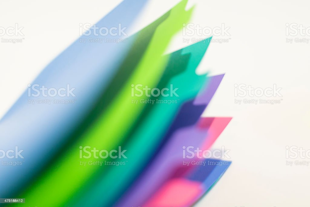 Colorful page dividers abstract soft stock photo
